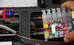 Đổ mực máy in tại nhà 2PCOM